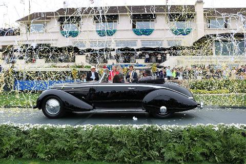 Congratulations to Richard Mattei of Paradise Valley, Arizona, owner of a 1936 Lancia Astura Pinin Farina Cabriolet for winning Best of Show at this year's Pebble Beach Concours d'Elegance!