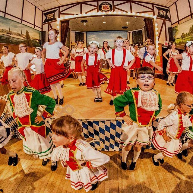 Folklorama -- Germany Pavillion  Kids in traditional German outfits performing a song number. #winnipeg #folklarama2016 #germany #kids #song
