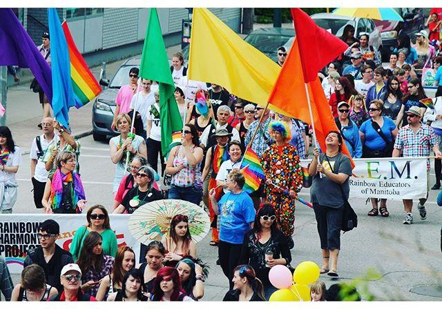 We are looking for 20 volunteers on Sunday, June 5 from 10:30-2pm to help at the Pride rally at The Leg and at the parade. Contact us if you are interested. #Winnipeg #pride #festival