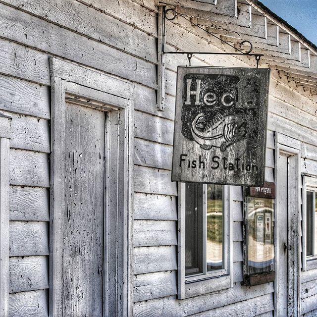 Hecla Village  #signage #sign #signcollective #ig_signage #fishingvillage #ipulledoverforthis #bestofmanitoba #trb_members1 #exploreMB #ig_great_shots_canada #manitoba #pocket_canada