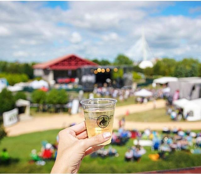 Music paired with wine at the Interstate Rodeo in Winnipeg. Love this concept! This was The Ned Sauvignon Blanc from Marlborough, New Zealand paired with live music from Thao & The Get Down Stay Down. #ExploreMB #OnlyinthePeg